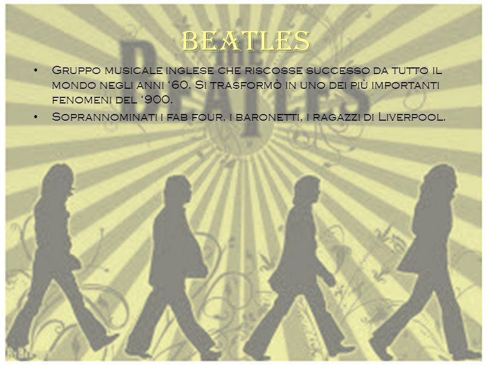 John Lennon Paul McCartney George Harrison Ringo Starr (Richard Starkey) Brian Epsend (menager)