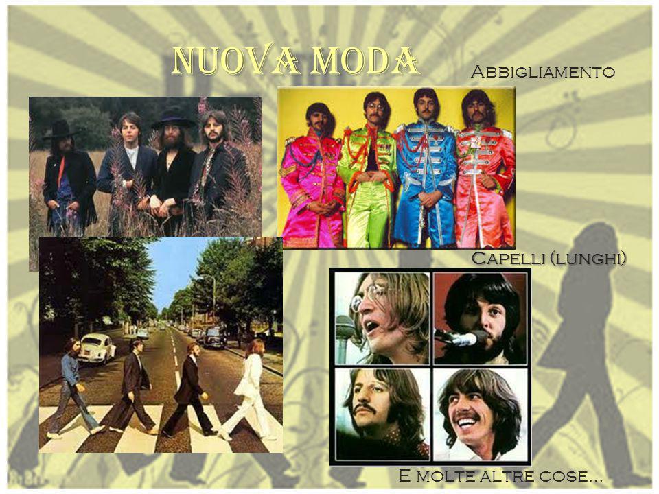 BEATLES G ruppo musicale inglese che riscosse successo da tutto il mondo negli anni '60. Si trasformò in uno dei più importanti fenomeni del '900. S o