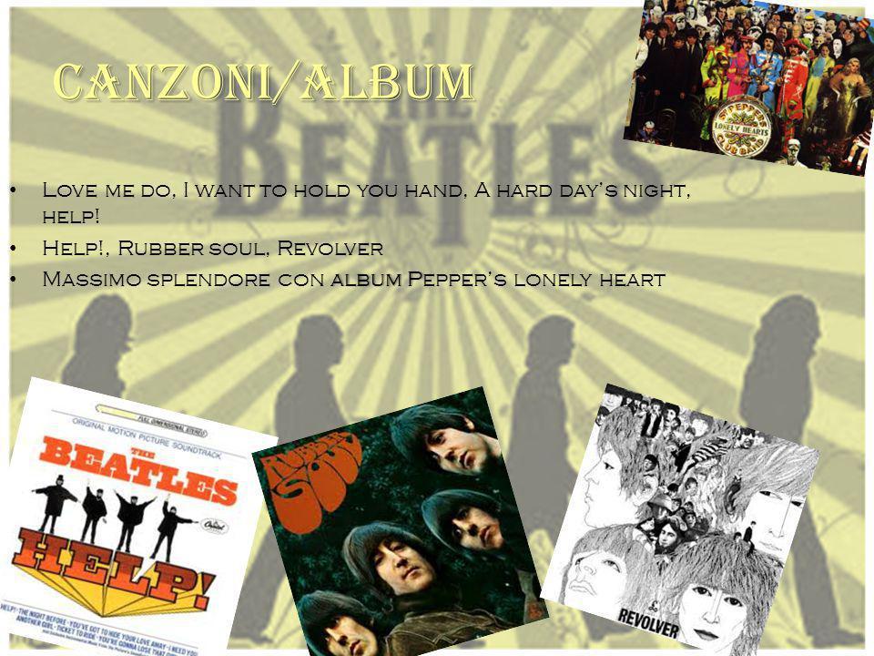 ORIGINE A l Liverpool institute L ennon e Paul crearono un gruppo: Quarrymen, entrò anche George e nel (1961) diventarono : i Beatles. Il batterista f