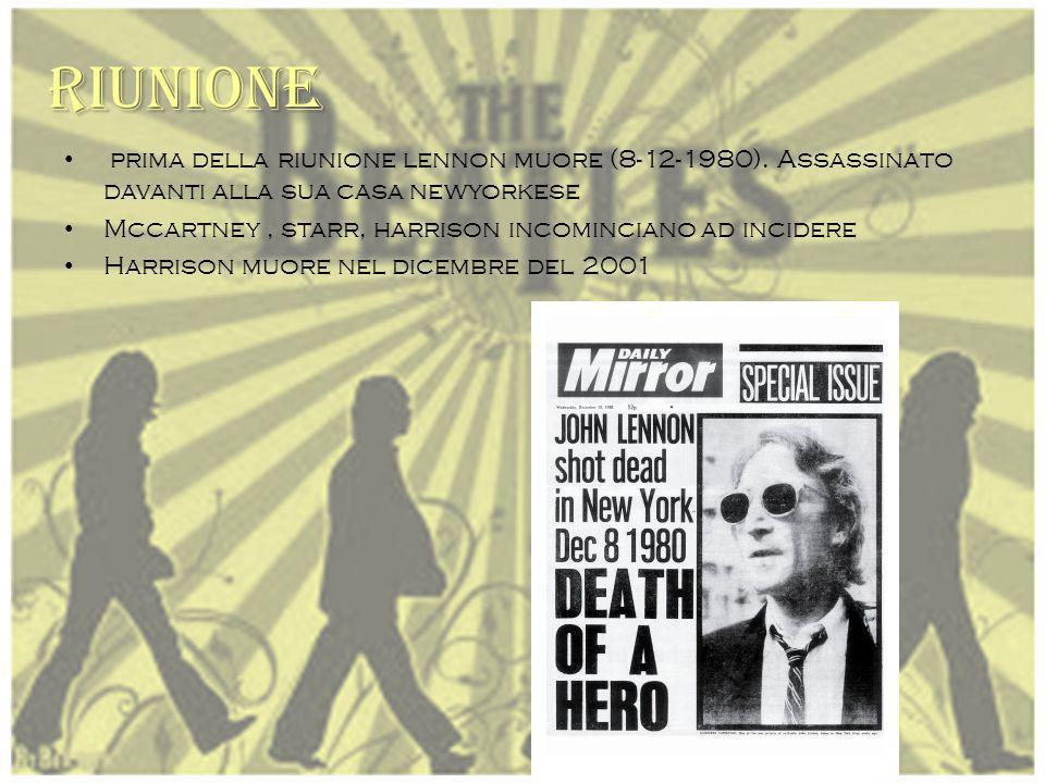 Separazione D al 1968 I cantanti prendevano sopravvento senza pensare al gruppo. 1 968: harrison incide brano singolo (wonderful) ; lennon (album unfi