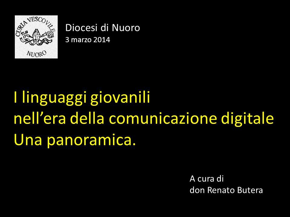 I linguaggi giovanili nell'era della comunicazione digitale Una panoramica.