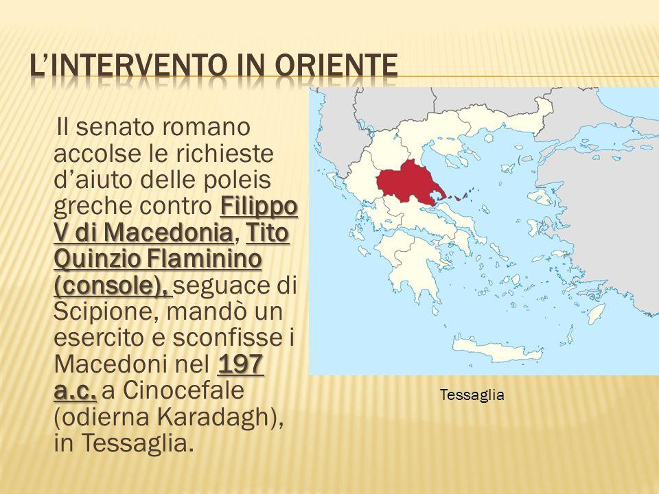 Filippo V di MacedoniaTito Quinzio Flaminino (console), 197 a.c.