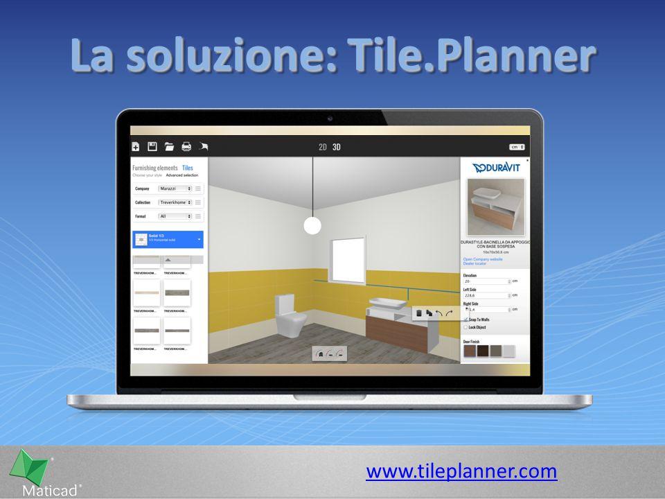 La soluzione: Tile.Planner www.tileplanner.com