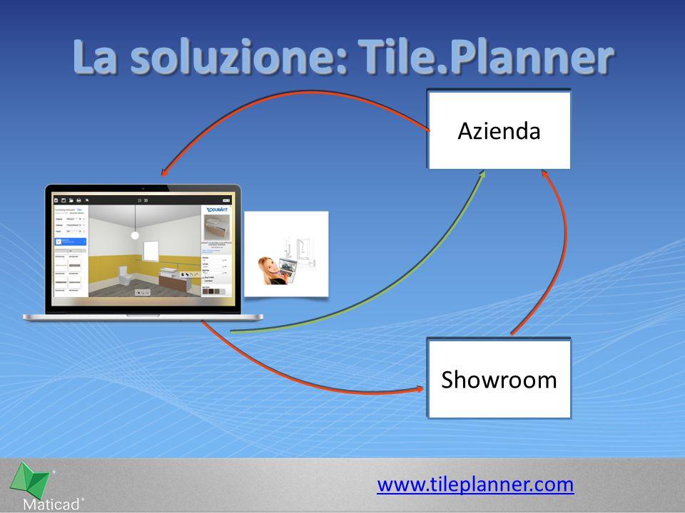 La soluzione: Tile.Planner www.tileplanner.com Azienda Showroom