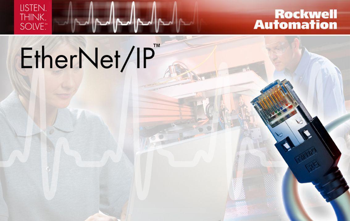 Un'unica rete per le operazioni a livello di impianto e a livello gestionale Il protocollo avanzato CIP (Common Industrial Protocol) consente di utilizzare la stessa rete per le comunicazioni di controllo, di processo, di sicurezza e dei dati industriali