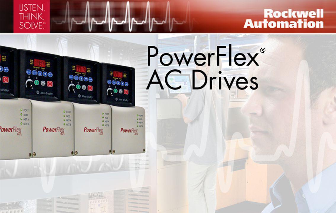 Controllo vettoriale sensorless e maggiore capacità I/O Taglie inverter PowerFlex 40 0.4 - 11 kW; 0.5 - 15 hp 120, 240, 480, 600 V Due canali di ingresso analogici, con funzioni PID, per una maggiore flessibilità applicativa