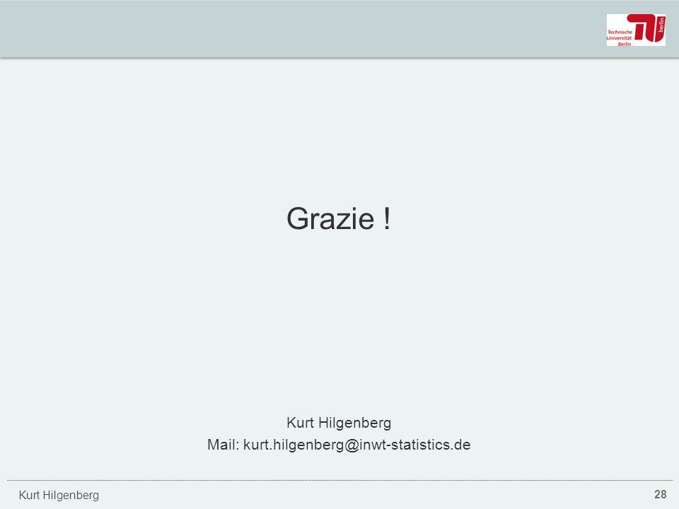Kurt Hilgenberg Grazie ! Kurt Hilgenberg Mail: kurt.hilgenberg@inwt-statistics.de 28
