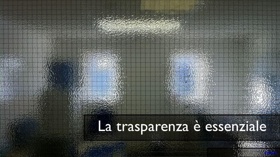 La trasparenza è essenziale autore
