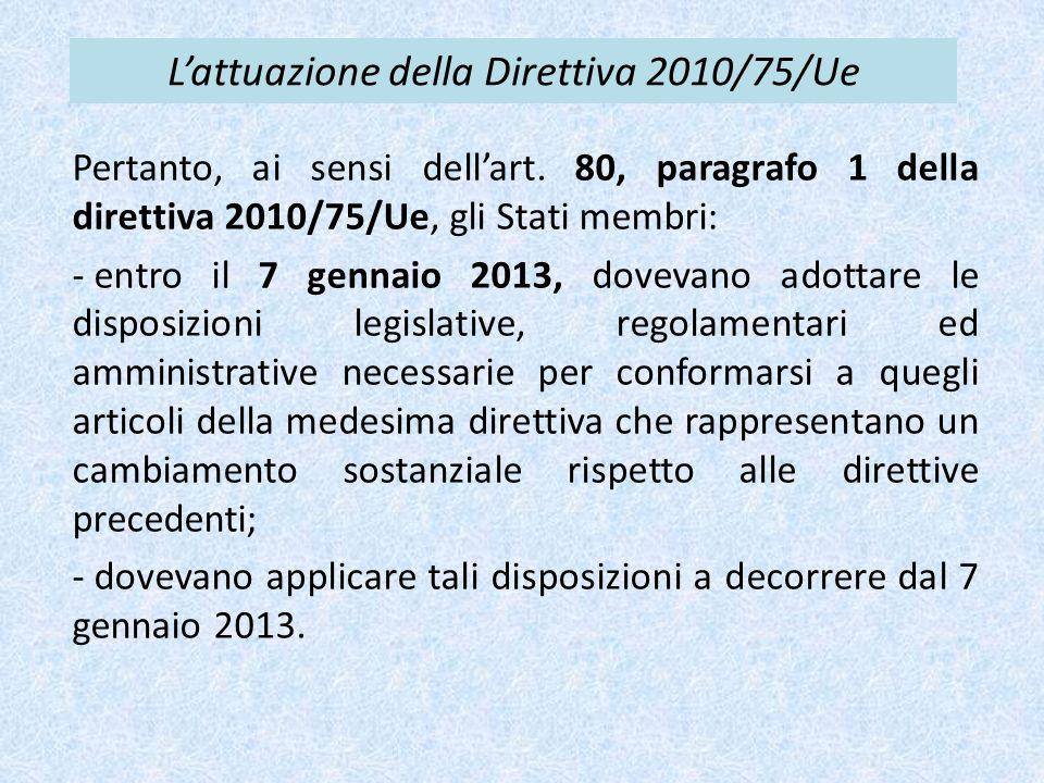 Sanzioni Legge 6 agosto 2013, n.