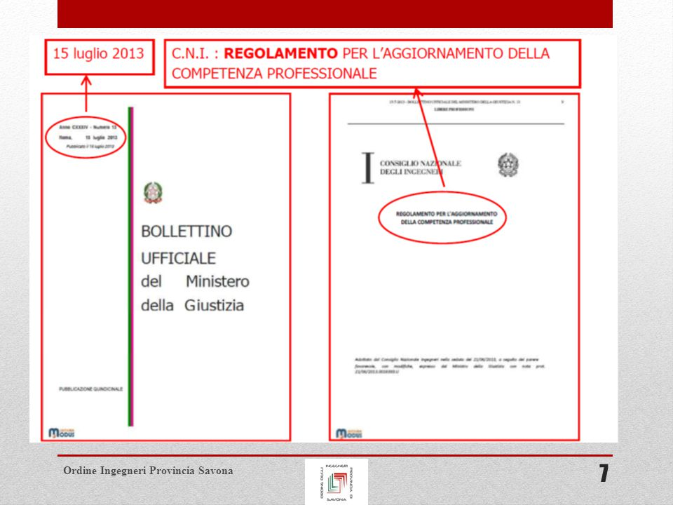 Ordine Ingegneri Provincia Savona 7