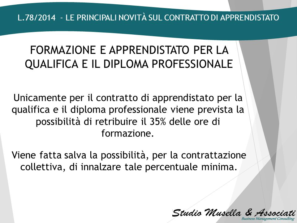 CLAUSOLA DI STABILIZZAZIONE Il vincolo di stabilizzazione - introdotto con la L.92/2012 - diviene applicabile unicamente ai datori di lavoro che occup