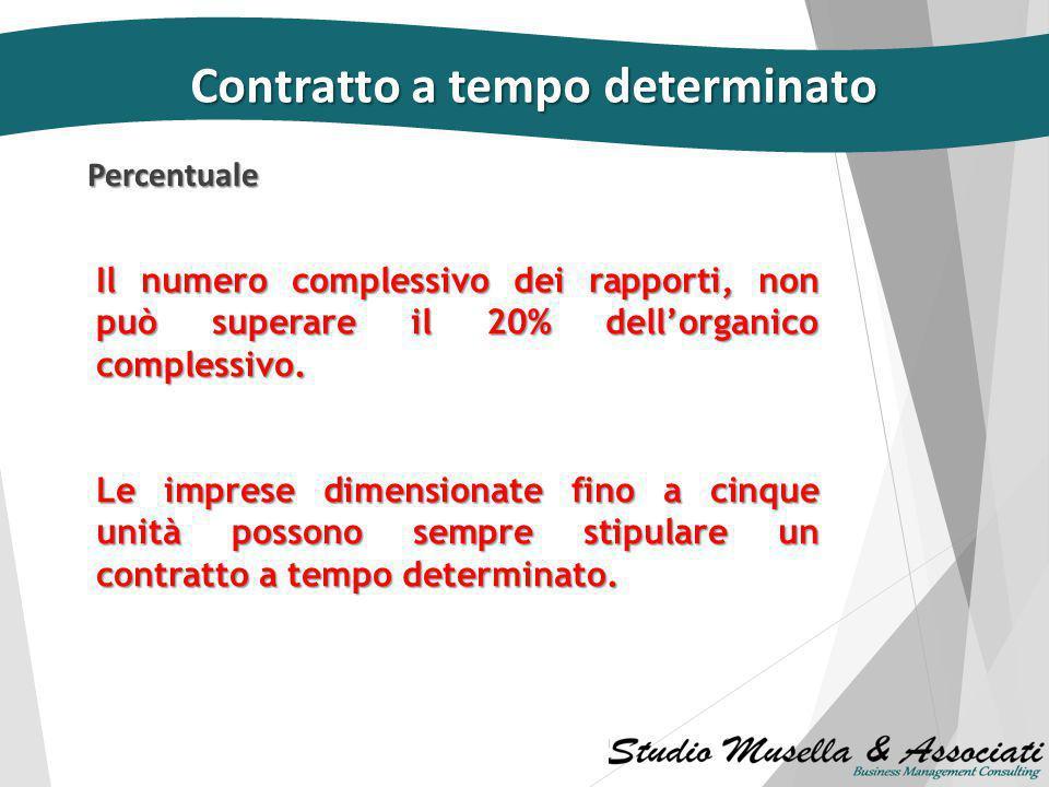 Acausalità Contratto a tempo determinato dal 21 marzo 2014  non è più limitato al primo contratto a termine;  può essere stipulato per iscritto per