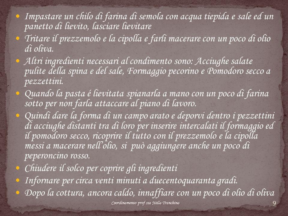 10 Coordinamento prof.ssa Nella Tranchina