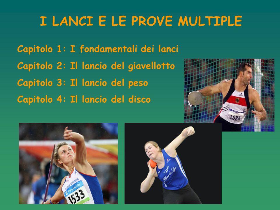 Tutti i lanci sono caratterizzati da 5 fasi: 1: La posizione di partenza 2: La traslocazione/rincorsa 3: La posizione di lancio 4: Il lancio 5: La posizione finale