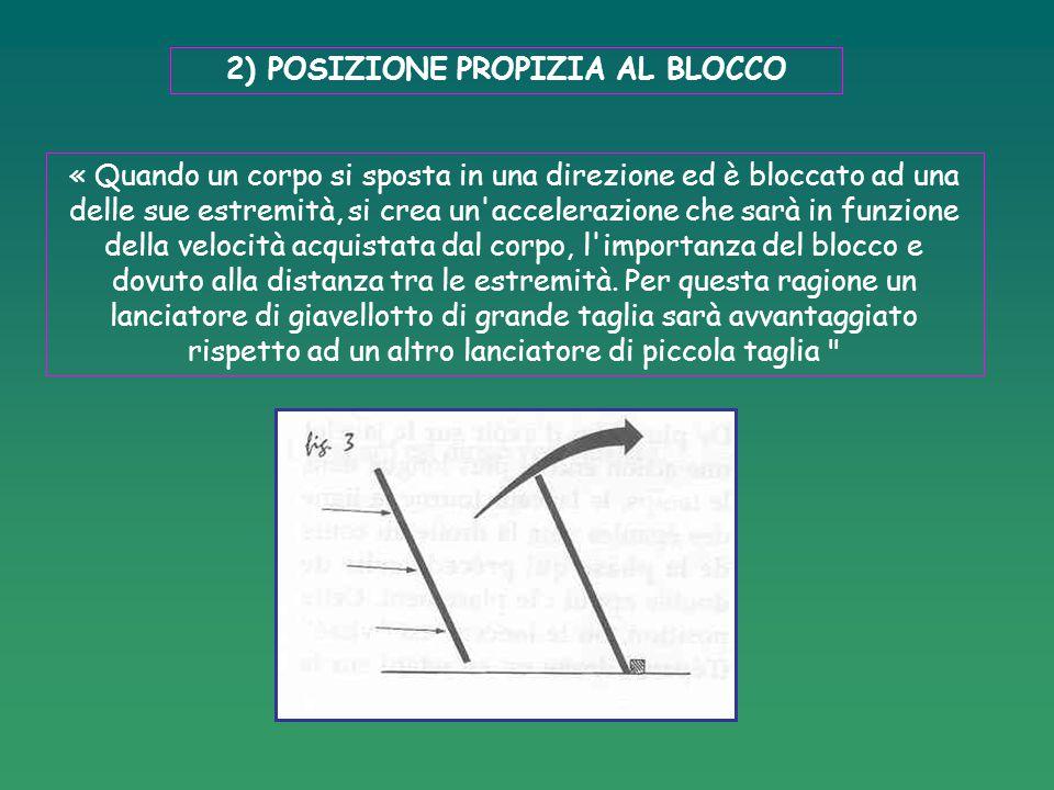 1: IMPUGNATURA DELL'ATTREZZO 1)Il peso è appoggiato sulle dita leggermente aperte 2 ) Il peso è appoggiato nel triangolo anatomico (clavicola – mascella inf.