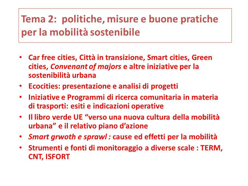 Tema 3: elementi di tecnica dei trasporti  Portata e potenzialità delle infrastrutture  Elementi di moderazione del traffico  Dimensioni e caratteristiche tecniche delle principali componenti del trasporto pubblico urbano di passeggeri