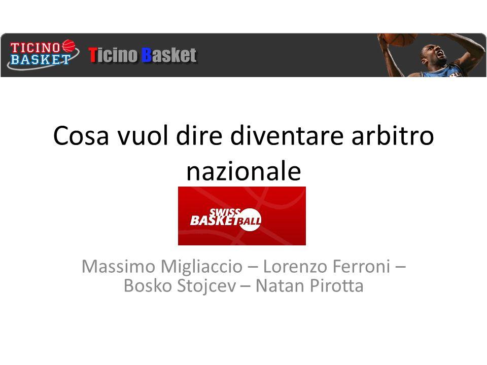 Cosa vuol dire diventare arbitro nazionale Massimo Migliaccio – Lorenzo Ferroni – Bosko Stojcev – Natan Pirotta