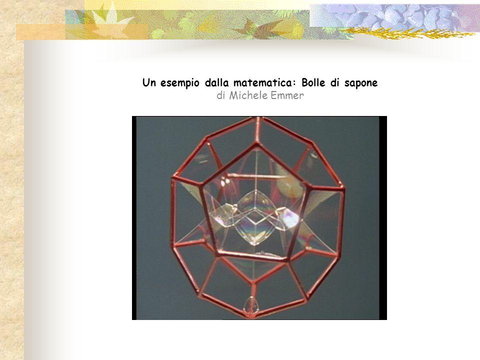 Un esempio dalla matematica: Bolle di sapone di Michele Emmer