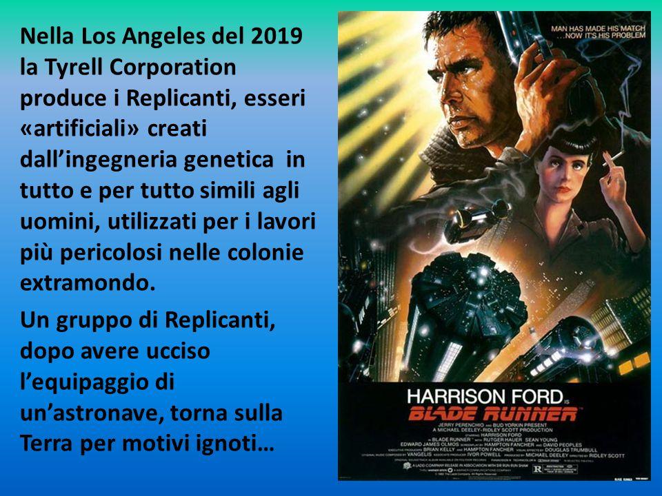 Rick Deckard è un ex Blade Runner, un'unità di polizia incaricata di «ritirare», cioè eliminare fisicamente, i Replicanti ribelli.