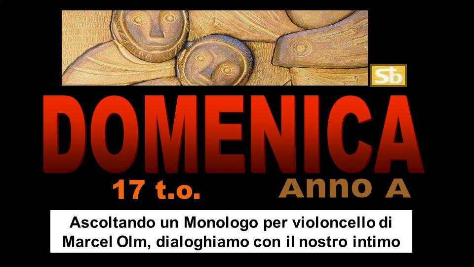 Ascoltando un Monologo per violoncello di Marcel Olm, dialoghiamo con il nostro intimo 17 t.o.