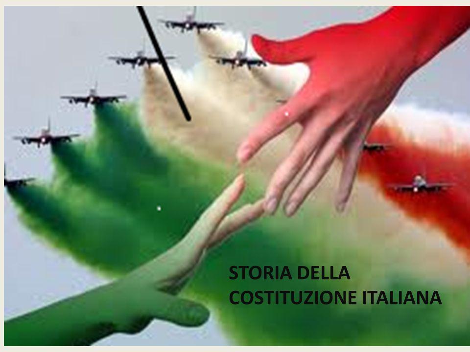 La Costituzione della Repubblica Italiana STORIA DELLA COSTITUZIONE ITALIANA