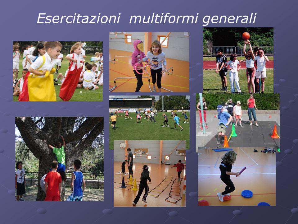 Esercitazioni multiformi generali