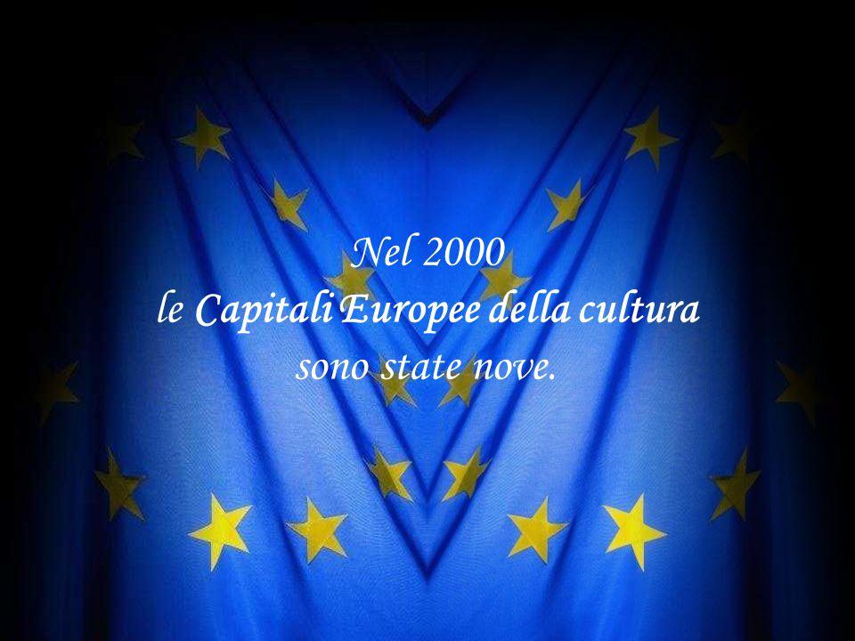"""""""Capitali"""" europee della cultura """"Capitali"""" europee della cultura Nel 1999, la Città europea della cultura è stata ribattezzata """"Capitale europea dell"""