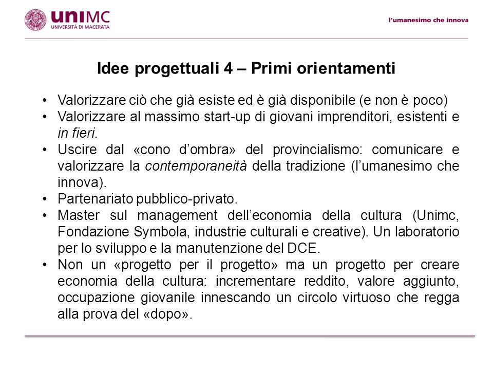 Mettiamoci al lavoro: come aderire alle idee progettuali E' fondamentale che tutti i soggetti interessati presentino idee, proposte, ipotesi ecc.