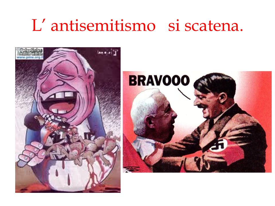 L' antisemitismo si scatena.