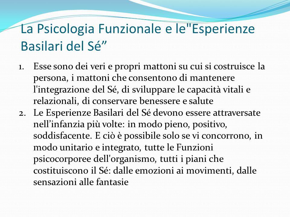 Coscienza centrale e periferica Pensateci.