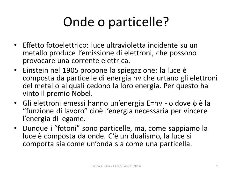 Onde o particelle.