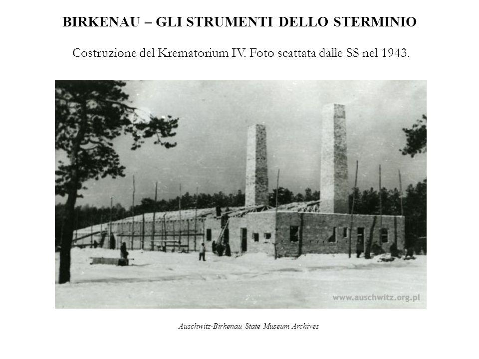 BIRKENAU – GLI STRUMENTI DELLO STERMINIO Krematorium IV e relativa camera a gas.