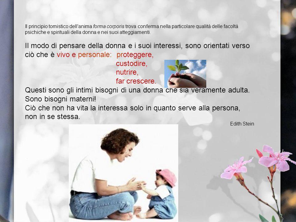 4.LA MATERNITA SPIRITUALE Ogni donna è chiamata alla maternità spirituale.