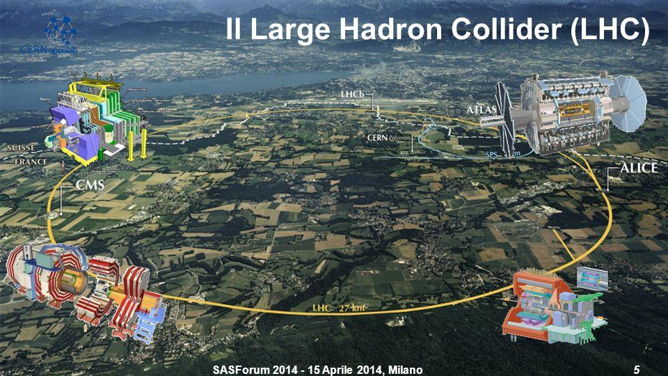 Il Large Hadron Collider (LHC) SASForum 2014 - 15 Aprile 2014, Milano5