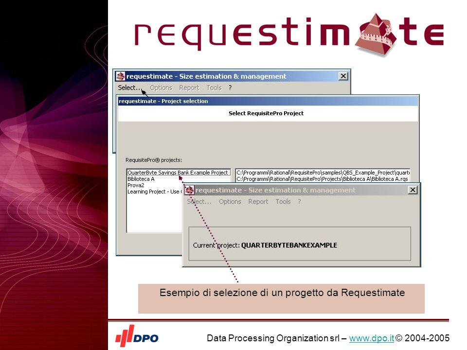 Data Processing Organization srl – www.dpo.it © 2004-2005www.dpo.it Esempio dettaglio dei Logical Process