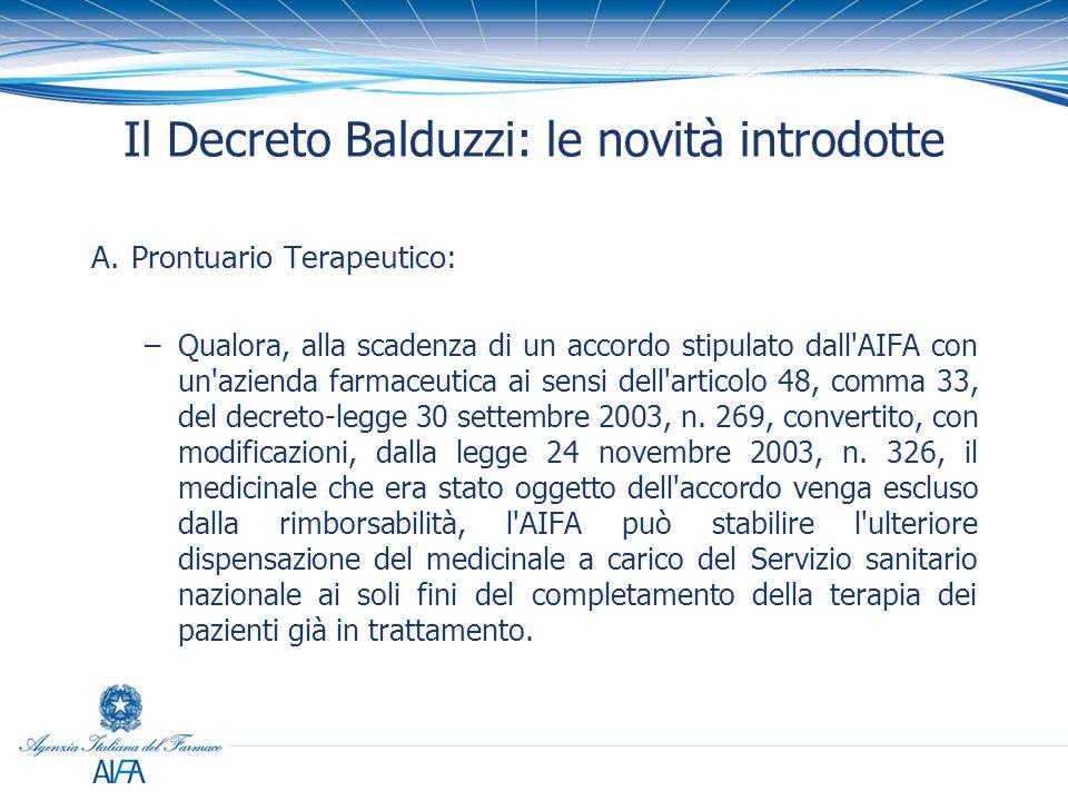 PROCEDURA ACCELERATA DI NEGOZIAZIONE (ART.