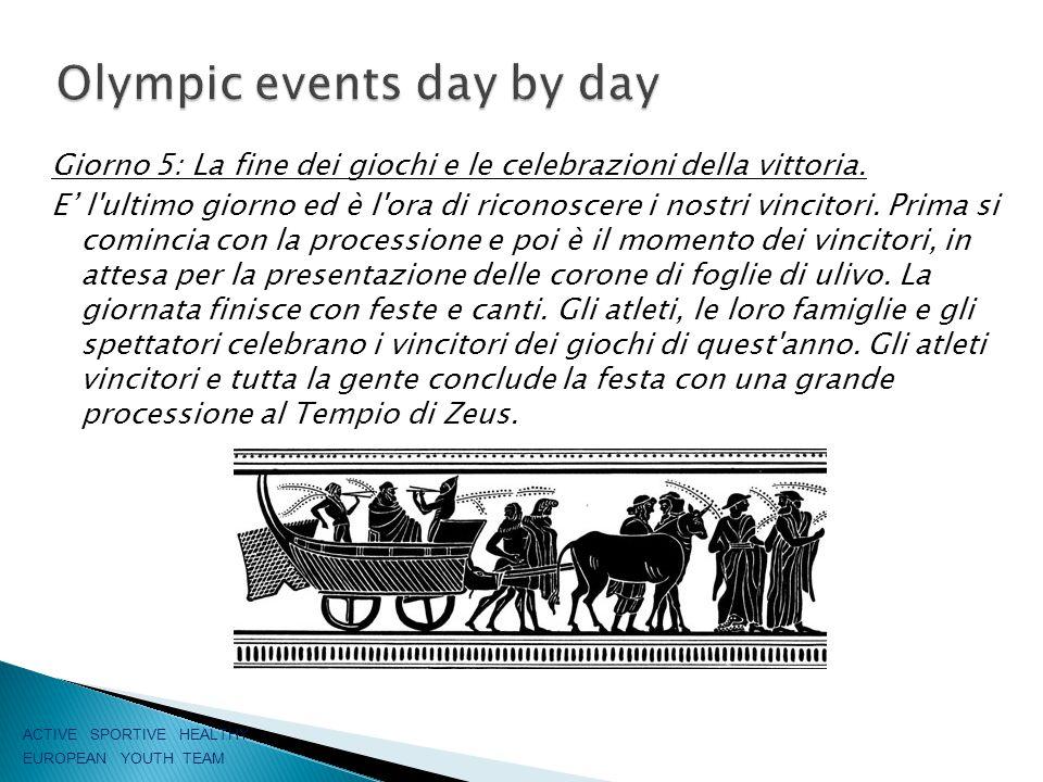 Giorno 5: La fine dei giochi e le celebrazioni della vittoria.