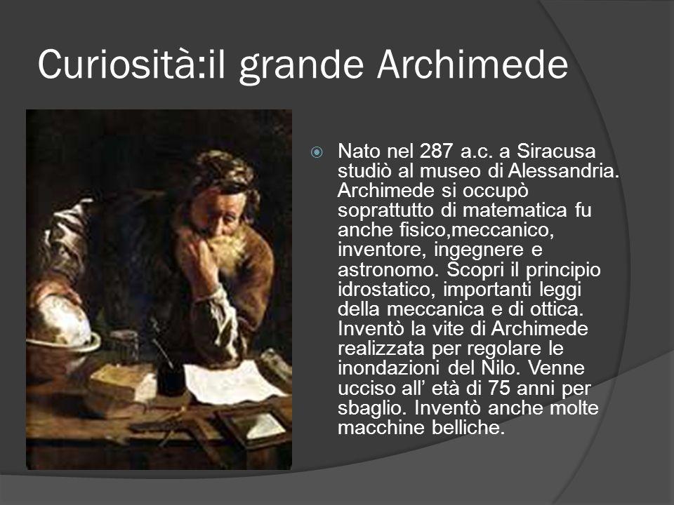 L' aria e la spinta di Archimede La spinta di Archimede vale per tutti i fluidi solo che nell'aria si chiama spinta aerostatica, nell'acqua spinta idr