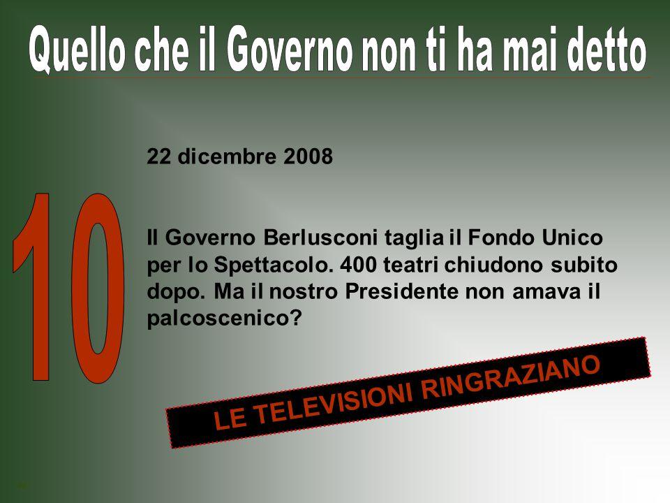 Il Governo Berlusconi taglia 800 milioni di euro al funzionamento ordinario della giustizia: tribunali, carceri e strutture amministrative restano senza risorse.
