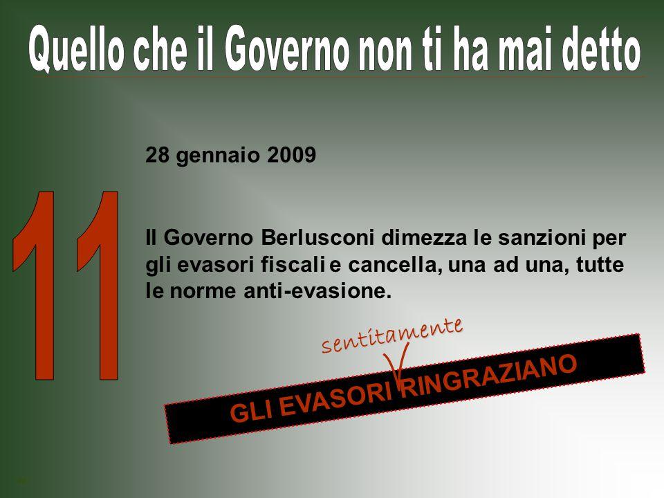 Il Governo Berlusconi taglia il Fondo Unico per lo Spettacolo.