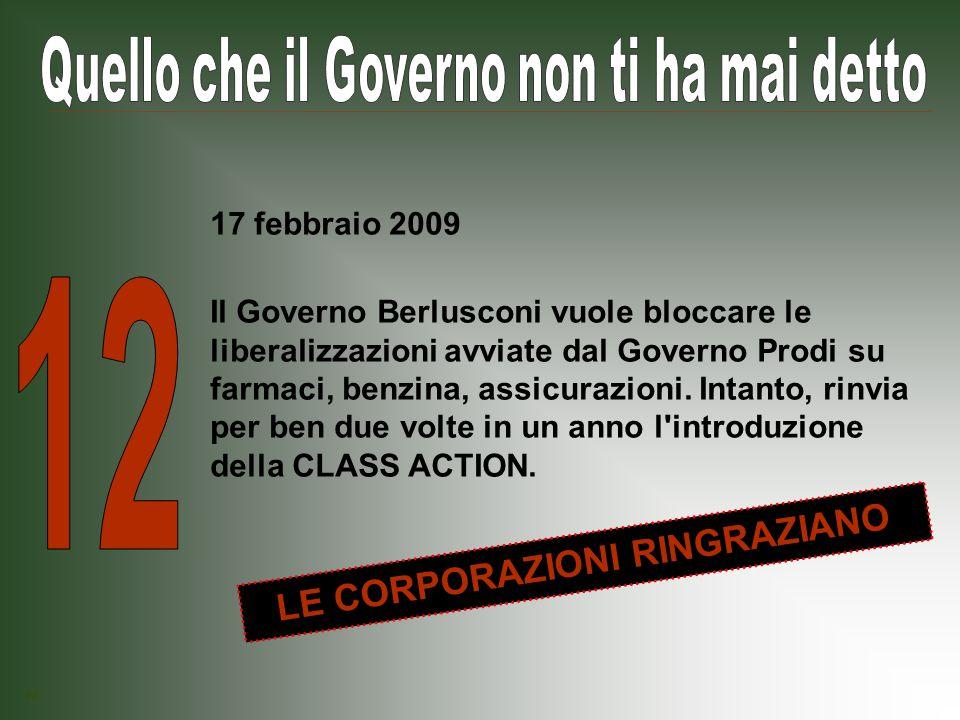 Il Governo Berlusconi dimezza le sanzioni per gli evasori fiscali e cancella, una ad una, tutte le norme anti-evasione.