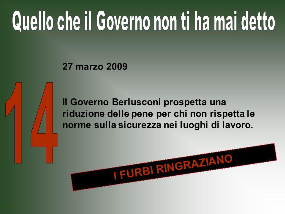 Il Governo Berlusconi rinvia l obbligo si installare, nelle nuove costruzioni, impianti di energia rinnovabile come pannelli solari e fotovoltaici.