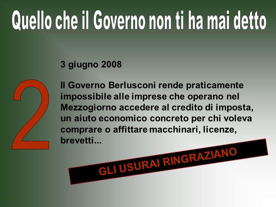 Il Governo Berlusconi vuole bloccare le liberalizzazioni avviate dal Governo Prodi su farmaci, benzina, assicurazioni.