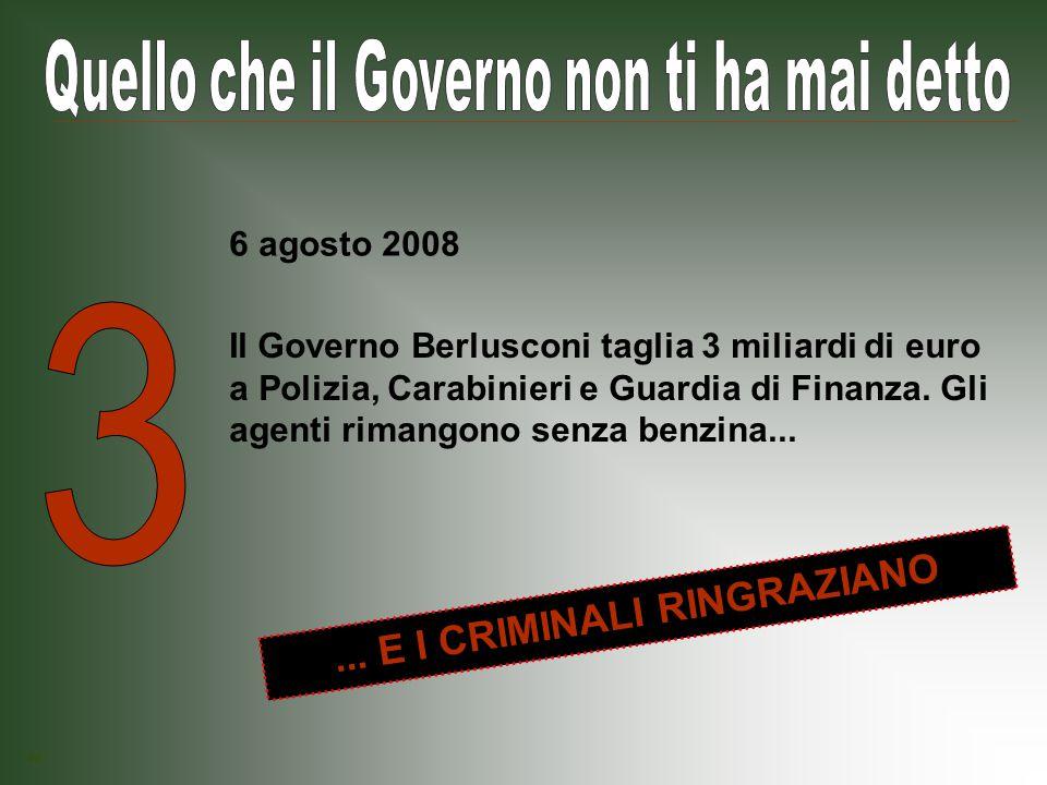Il Governo Berlusconi rende praticamente impossibile alle imprese che operano nel Mezzogiorno accedere al credito di imposta, un aiuto economico concreto per chi voleva comprare o affittare macchinari, licenze, brevetti...
