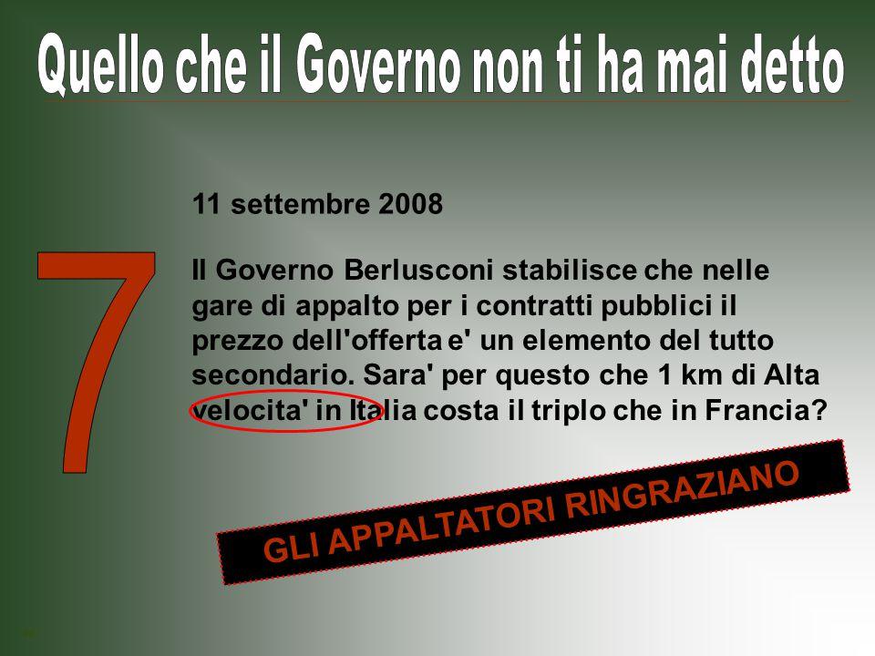 Il Governo Berlusconi introduce il divieto di reintegrare il lavoratore a tempo determinato, anche a seguito di sentenza del tribunale per licenziamento ingiustificato.