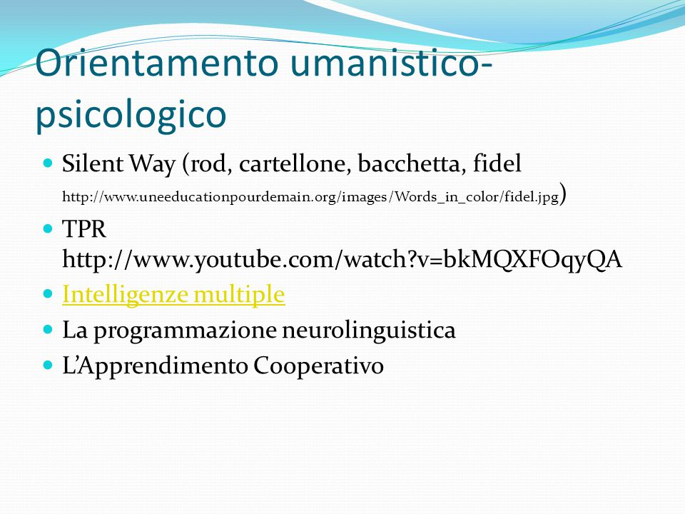 Orientamento umanistico- psicologico Silent Way (rod, cartellone, bacchetta, fidel http://www.uneeducationpourdemain.org/images/Words_in_color/fidel.j