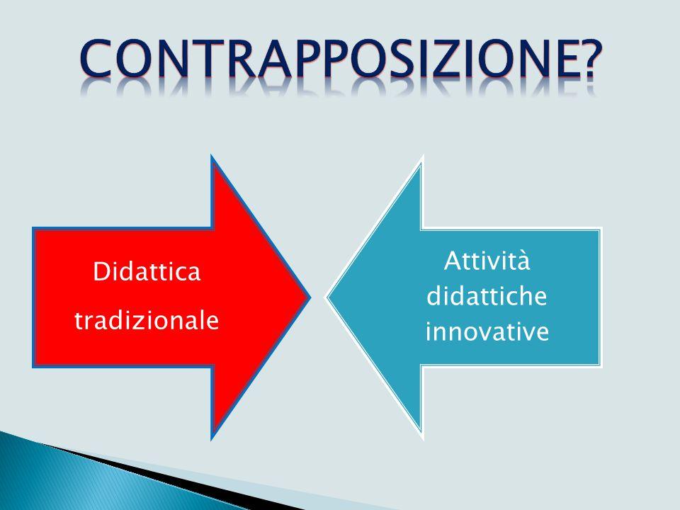 Didattica tradizionale Attività didattiche innovative