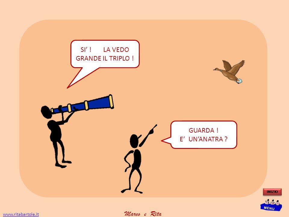 www.ritabartole.itwww.ritabartole.it Marco e Rita INIZIO MENU SI' .