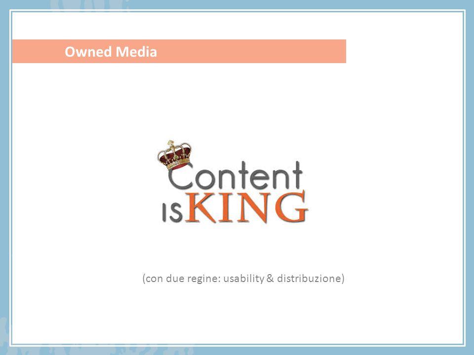 Owned Media (con due regine: usability & distribuzione)
