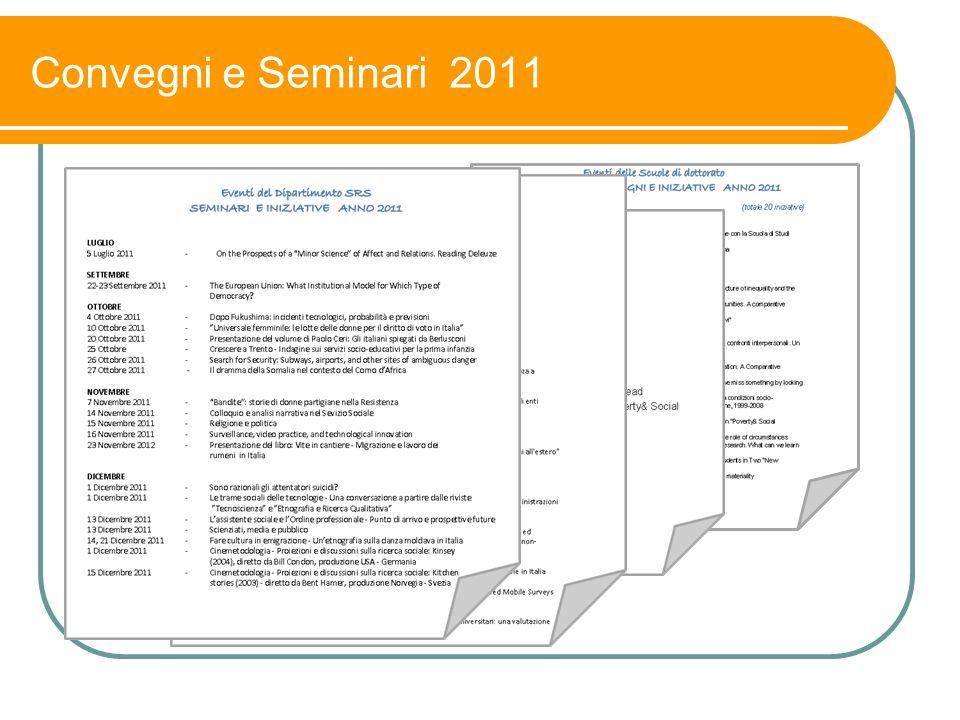 Convegni e Seminari 2011